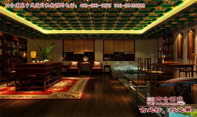 中式展廳設計--彰顯出的莊嚴與大氣