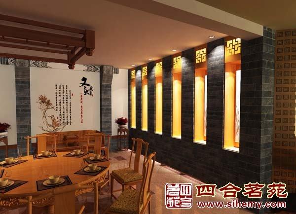 中式茶楼设计要点