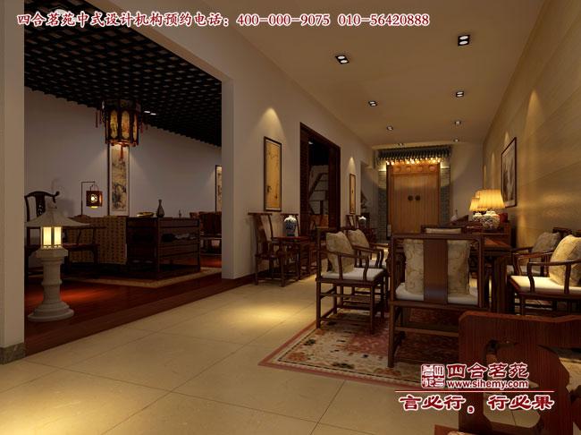 尚誠閣紅木家具展廳設計案例