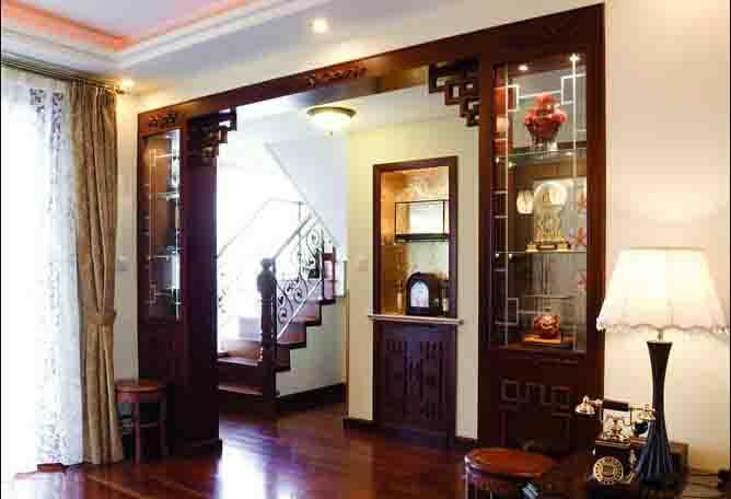 现代中式装修样板房--古典大气