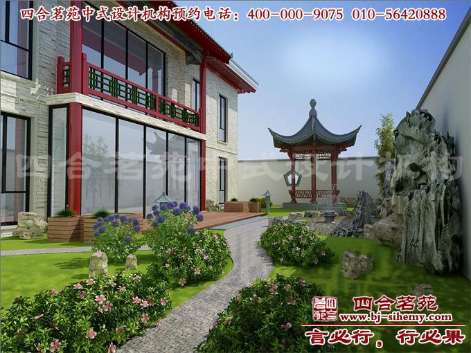 中式别墅庭院设计的神韵所在