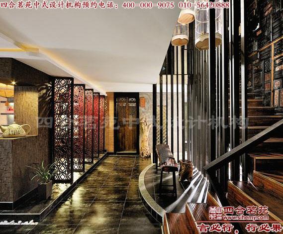 原木材料与铜铁艺术的结合,让我们看到了古典与时尚的相辅相成.