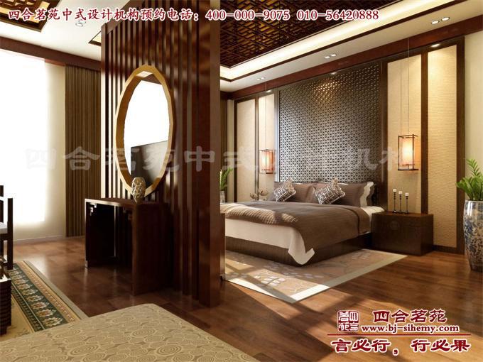 会所客房套间卧室设计效果图高清图片