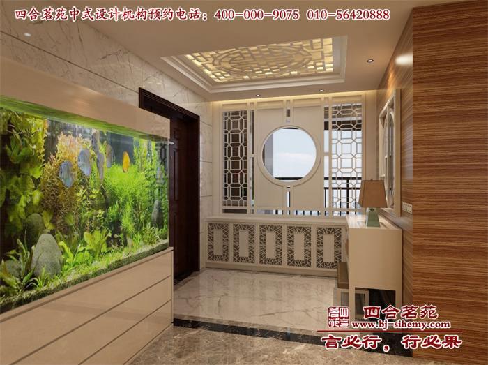 新中式家居门厅设计效果图高清图片