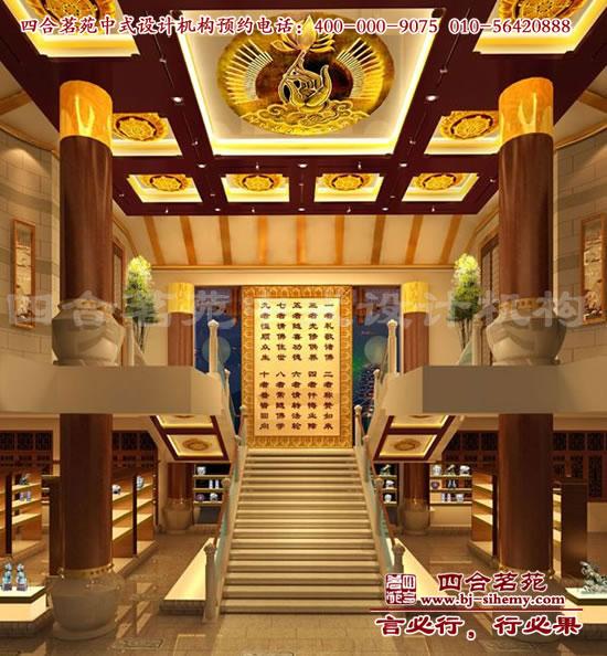 瓷器展厅大厅设计效果图