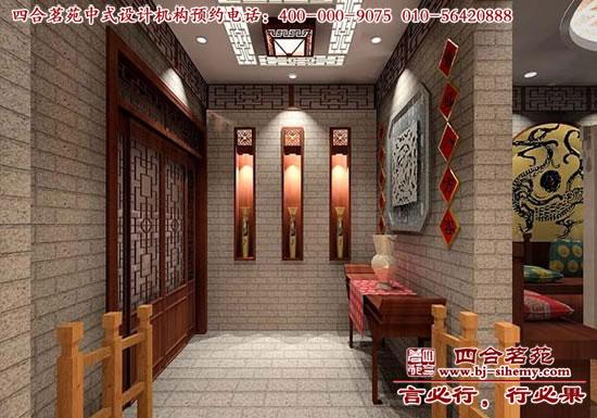 茶楼形象墙装修效果图分享