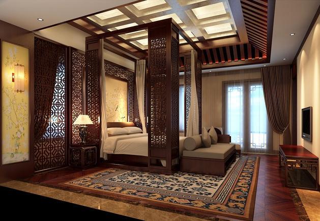 常见的古典中式别墅设计元素都有哪些----【四合茗