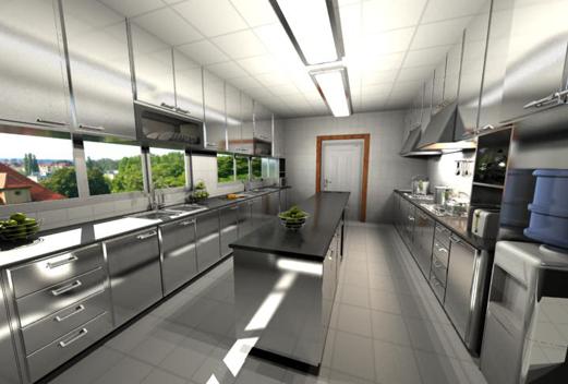 酒店厨房设计图-家居-颂得图片网站