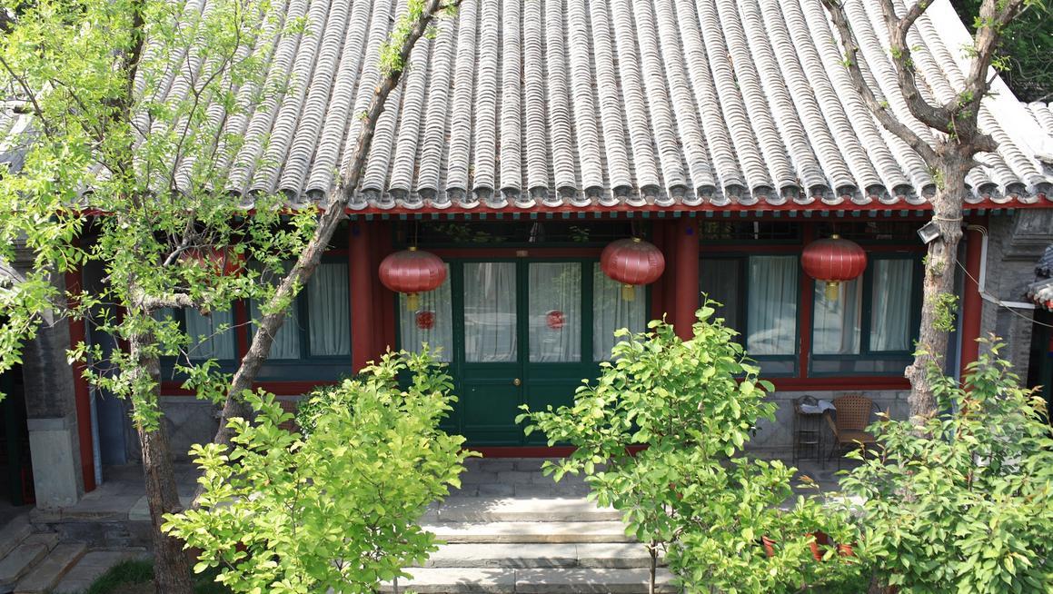 仿古建中式风格四合院设计中的庭院景观 图文