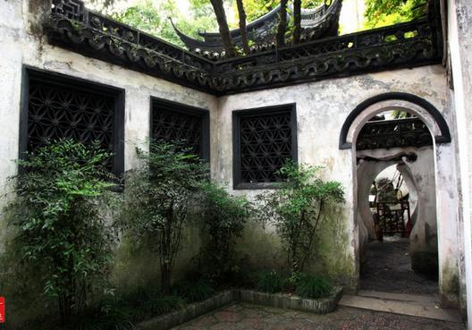 中式古典园林洞门设计工艺的形状分类总结----[四合