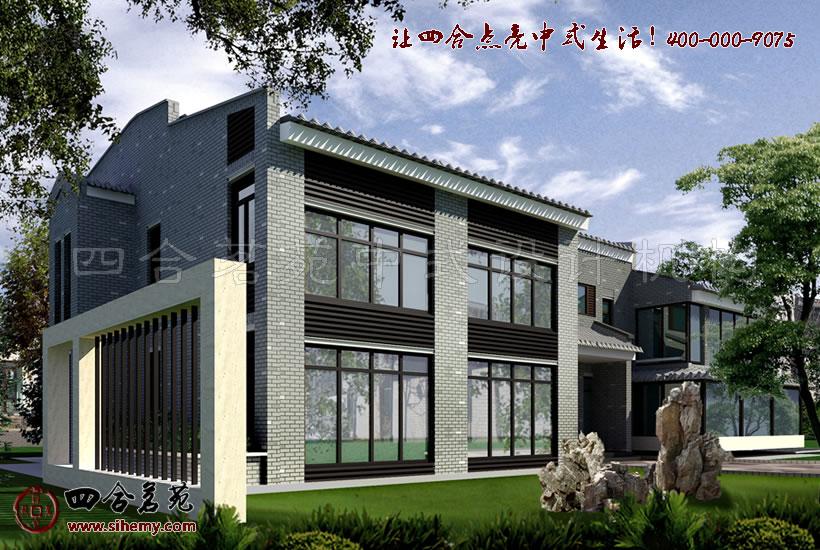 新中式别墅装修设计,彰显时尚感。