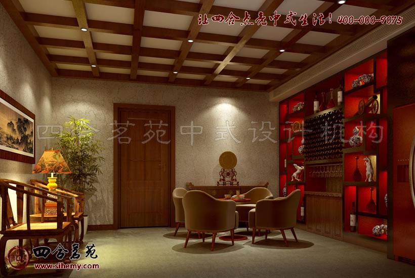 新中式别墅装修设计,注重装修环境。