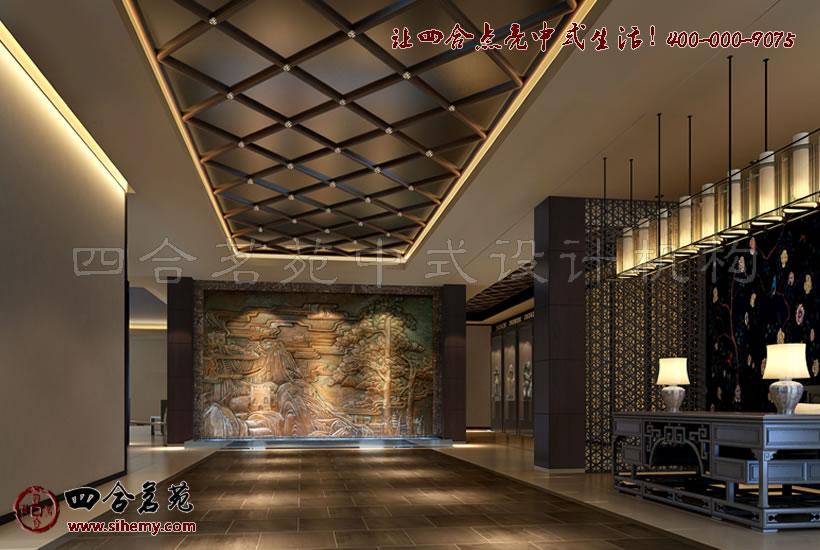 酒店大堂装饰花纹