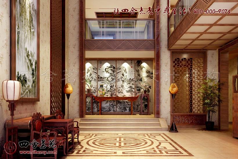 新中式别墅装修设计,用创新的设计理念。