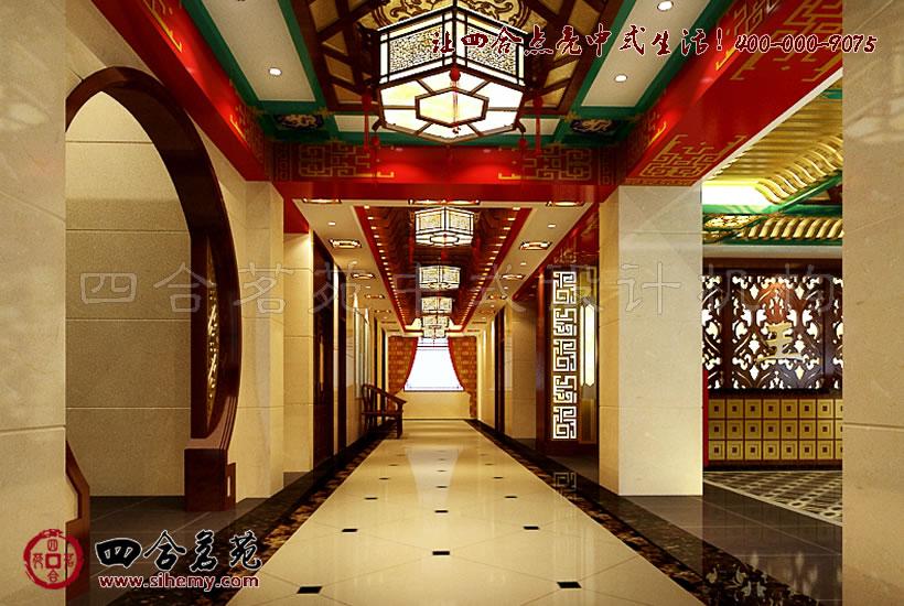 大堂铺装设计在中式空间中经典的不断延伸