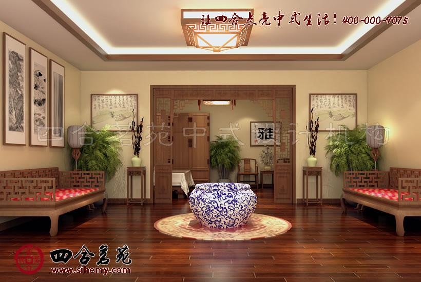 浅析红木家具展厅设计装修手法 图文