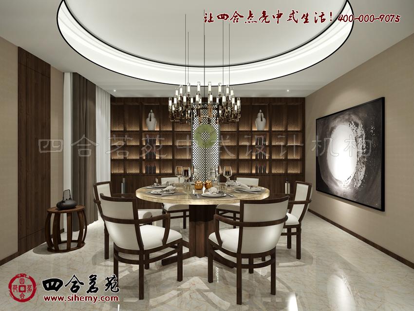 西藏灵山禅意新中式别墅装修效果图赏析 图文高清图片