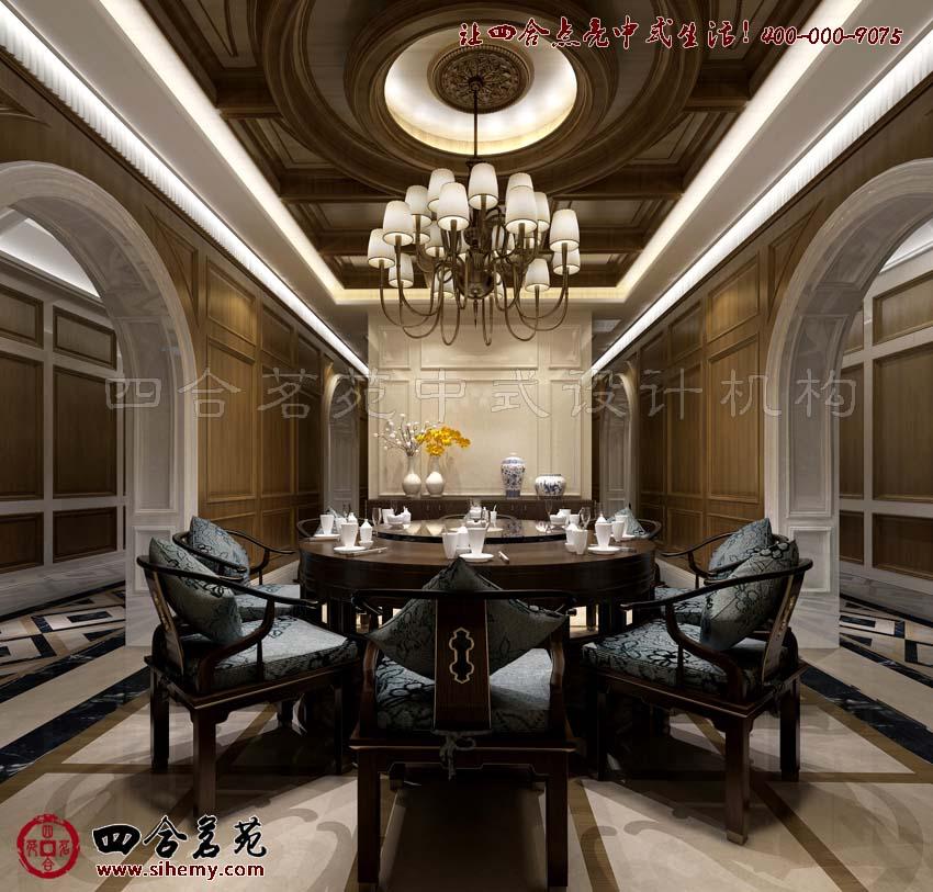 古典中式会馆设计,力求将设计之美呈现图片