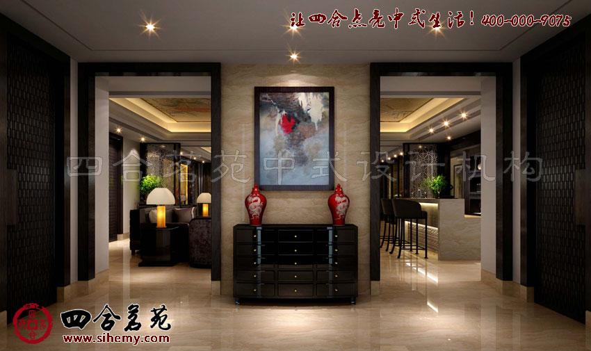 中式休闲会所设计装饰,一定要注重细节处。