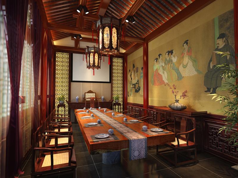 中式四合院园林景观设计中蕴含的经典元素 图文