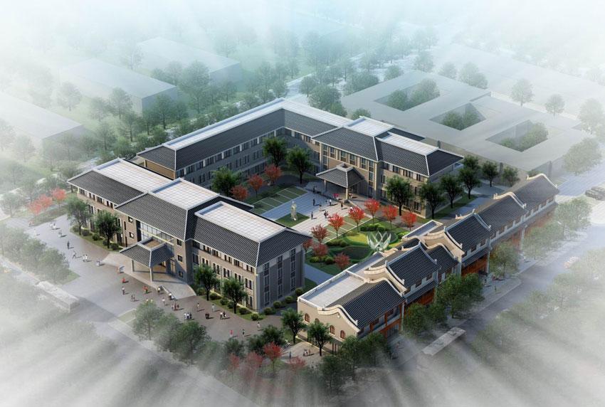 中医院门诊建筑设计效果与原理分析 图文