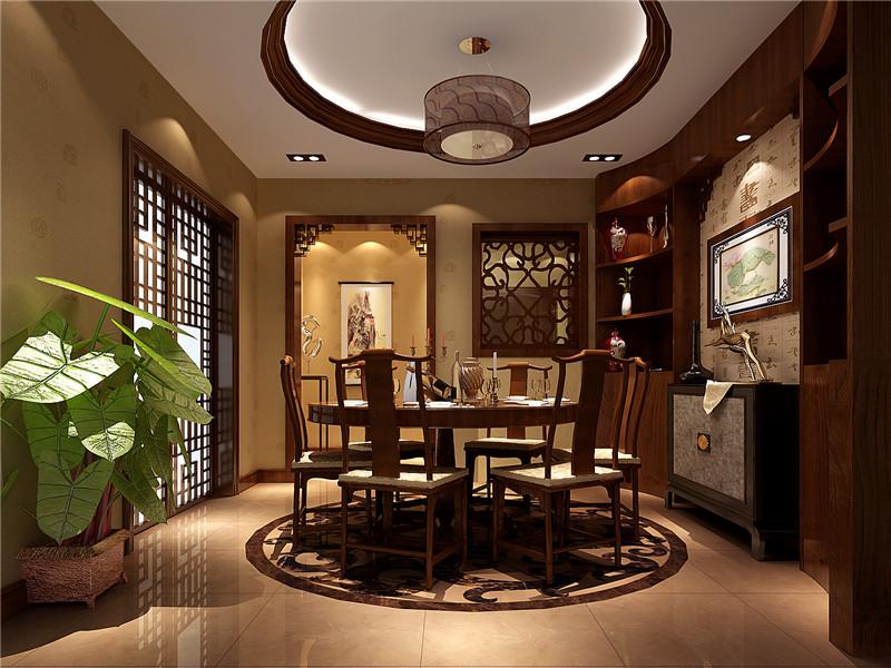 古典中式别墅装修,完美的设计在于细节。