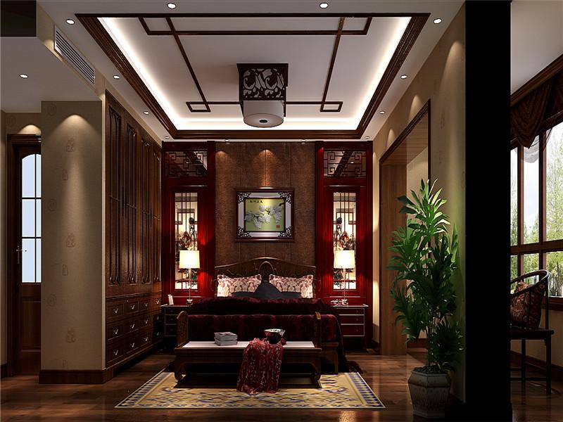古典中式别墅装修,力求打造出最好的效果。