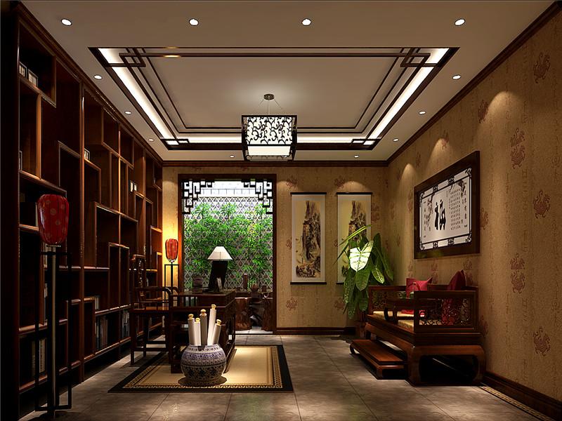 古典中式别墅装修,注重的是品质与质量。