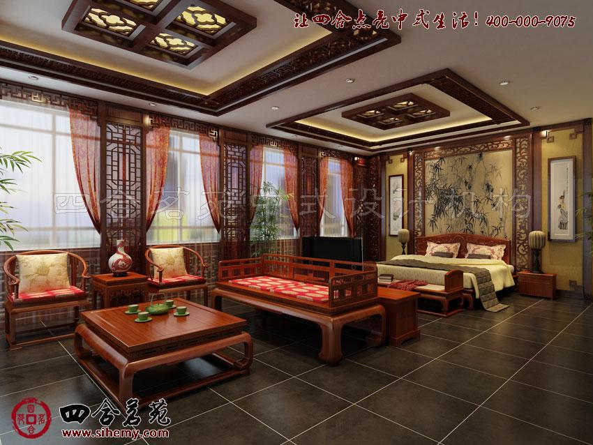 中式装修展厅,完美的设计在于细节。