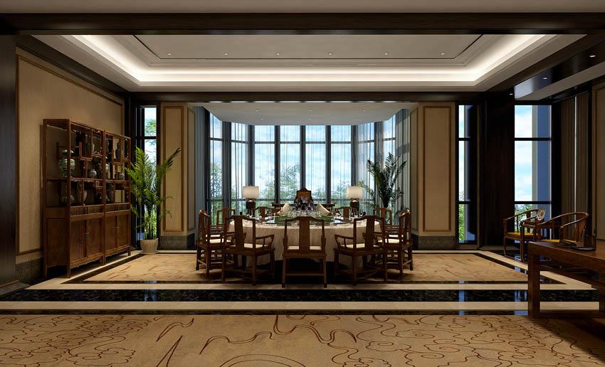 别墅新中式设计风格