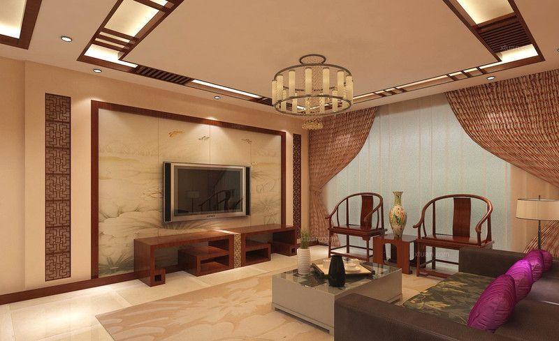 20款现代中式风格电视背景墙大比拼