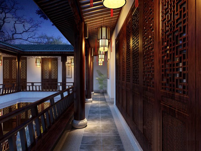 四合茗苑著名中式设计师刘中辉-浮生再不过办公室中式