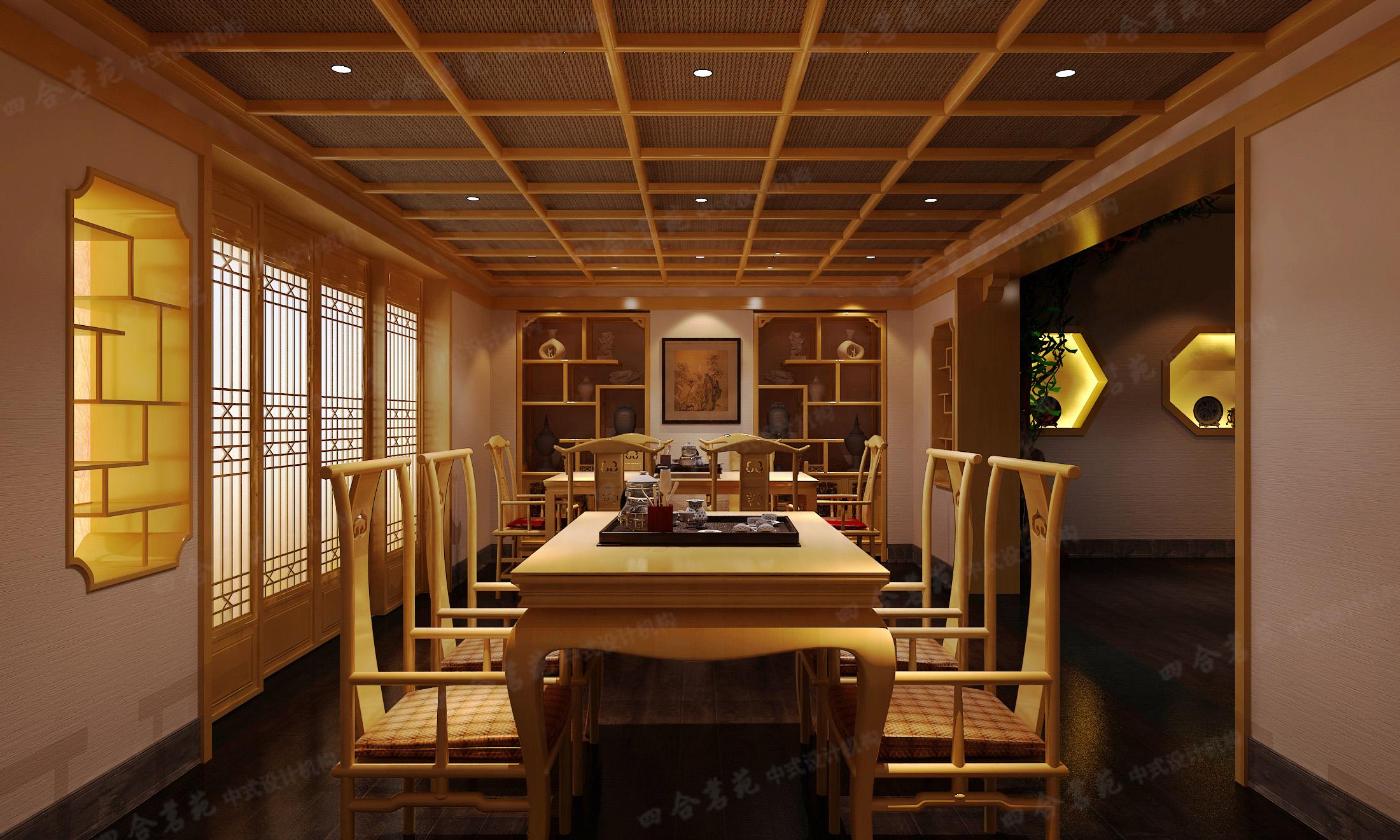 讲述茶室会所设计的注意事项