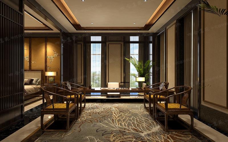 仿古中式装修 空间中那种古香古色的氛围格调