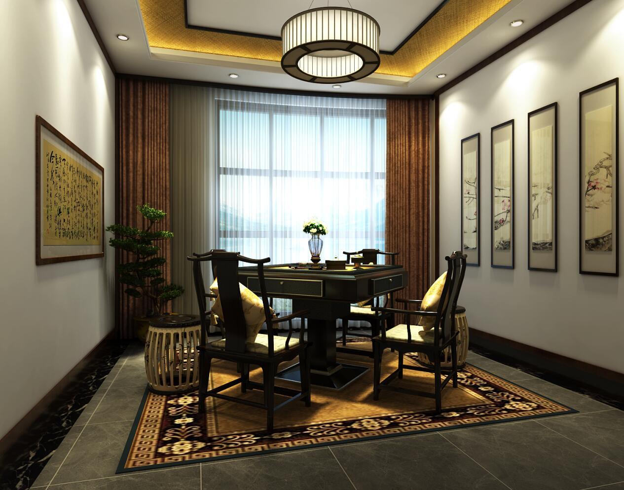 茶楼古典装修设计效果图