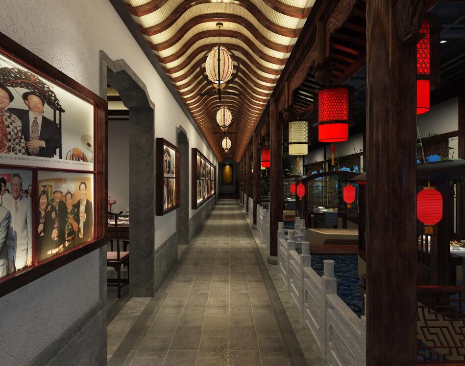 古典中式会馆设计,将设计之美呈现出来。