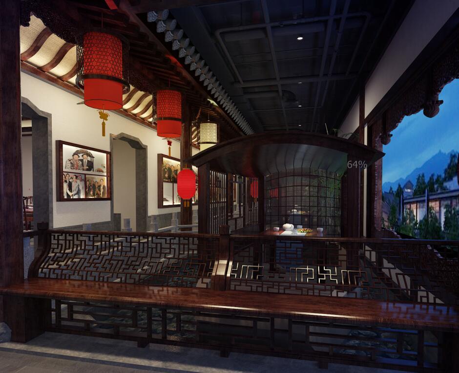 古典中式会馆设计,力求将设计之美呈现。