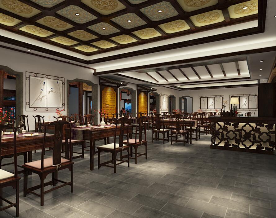 古典中式会馆设计,展现出中式设计之美。