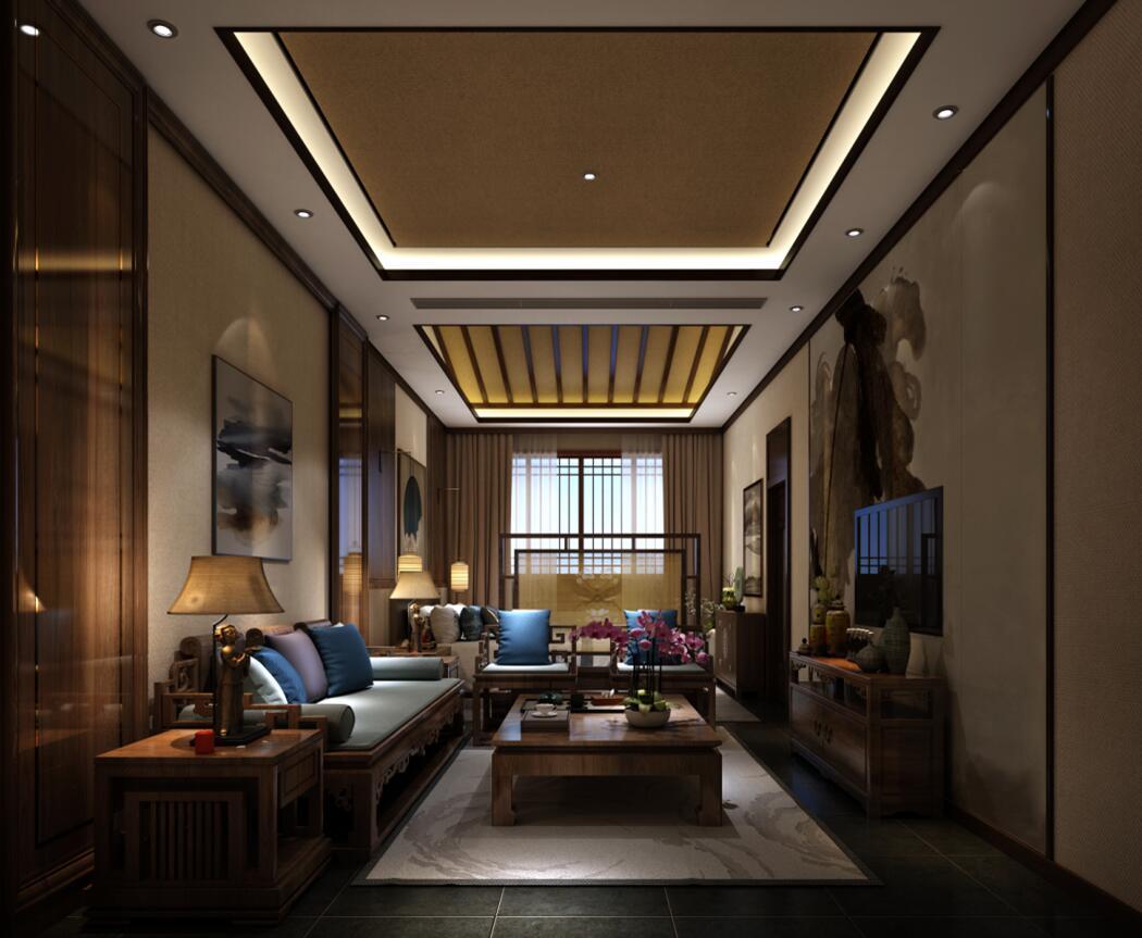 中式高端私人会所装修,力求达到完美境界。