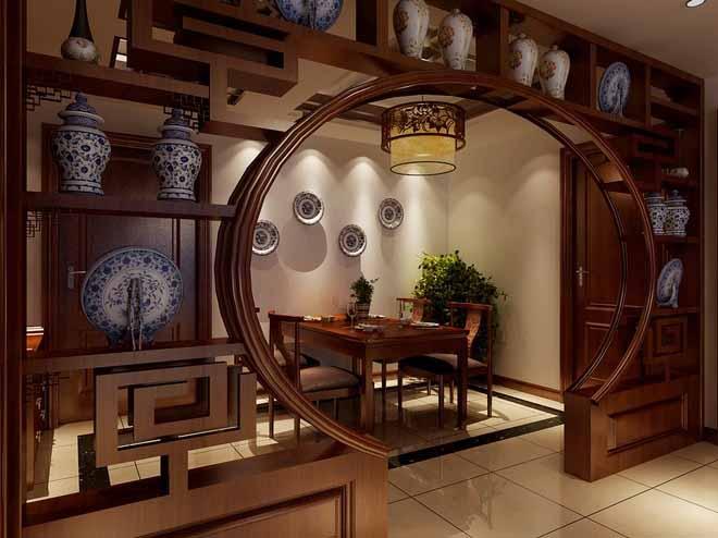 本案运用中式古典主义的设计手法. 在设计过程中我们力求营造出高雅奢华的生活空间,空间色调丰富,空间层次分明而不繁复,既是对传统的延续,也是对现代工艺的推崇。通过传统壁炉,实木线条,艺术墙 纸,还有古典家私,灯饰下的柔美灯光,层次丰富的软饰搭配等细节的衬托下,流露出纯净高贵的设计意念。