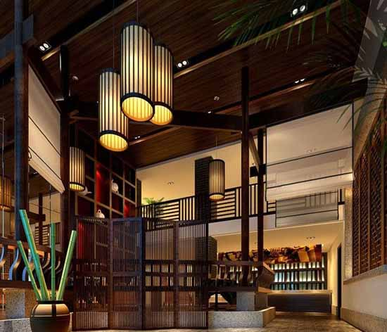 雅石茶庄中式装饰设计实景案例典范