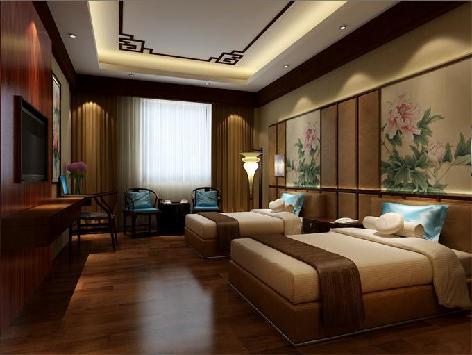 中式酒店装修_中式酒店设计_中式酒店装修效果图_图片