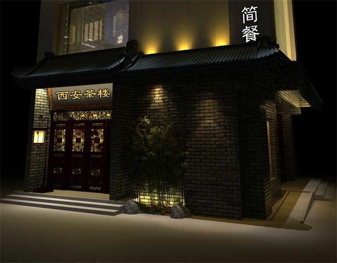 茶樓中式裝修設計該突出個性