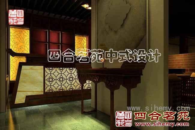 现代中式酒吧装修设计作品