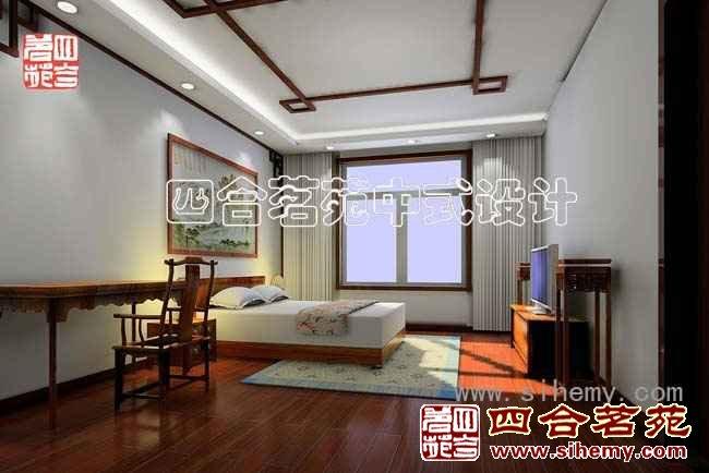 中式别墅装修设计效果图