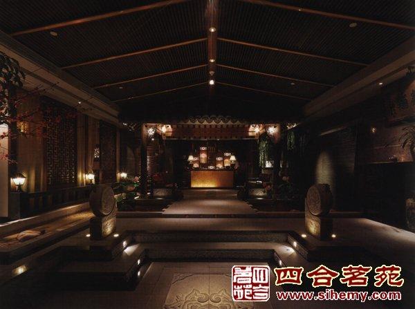 中式茶楼设计方案_四合茗苑网站