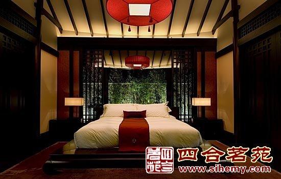 中式风格别墅汲取传统文化精髓_四合院设计_新浪博客图片