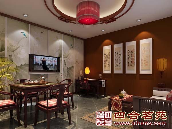 古典中式红酒会所图片