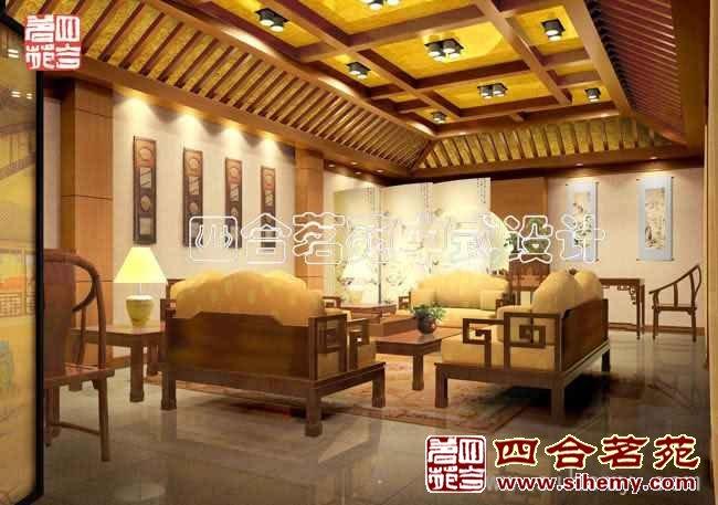 复古中式会所设计 - 配茶室图片
