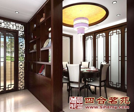 简约中式风格别墅